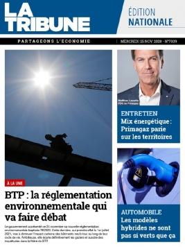 La Tribune quotidien N°20201125 du 25 novembre 2020 à télécharger sur iPad