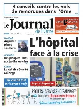 Le Journal de L'Orne N°3342 du 25 mars 2021 à télécharger sur iPad