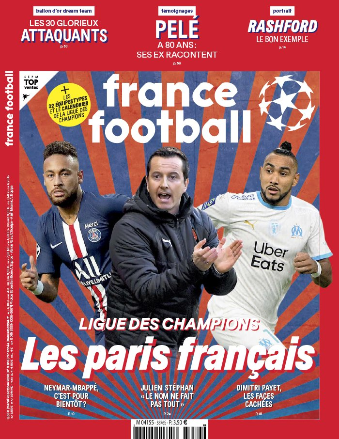 France Football du 20 octobre 2020