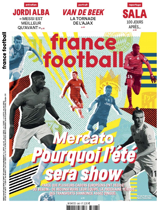 France Football N°3807 du 07 mai 2019 à télécharger sur iPad