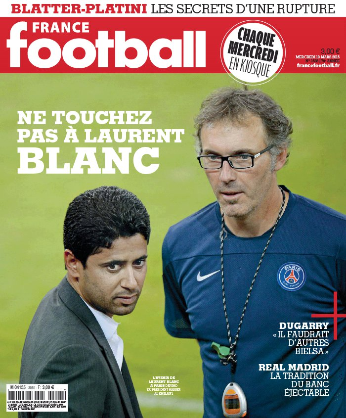 France Football N°3595 du 18 mars 2015 à télécharger sur iPad