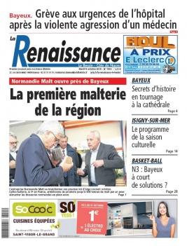 La Renaissance - Le Bessin N°7803 du 08 octobre 2019 à télécharger sur iPad