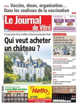 Le Journal de Vitré du 16 avril 2021