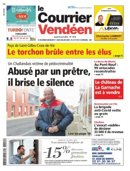 Le Courrier Vendéen du 08 avril 2021
