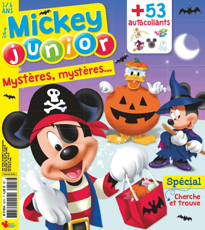 Mickey Junior du 10 octobre 2018