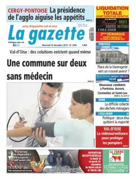 La Gazette du Val d'Oise N°2284 du 18 décembre 2019 à télécharger sur iPad