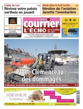 Le Petit Courrier L'Echo de la Vallée du Loir N°3463 du 10 mai 2019 à télécharger sur iPad