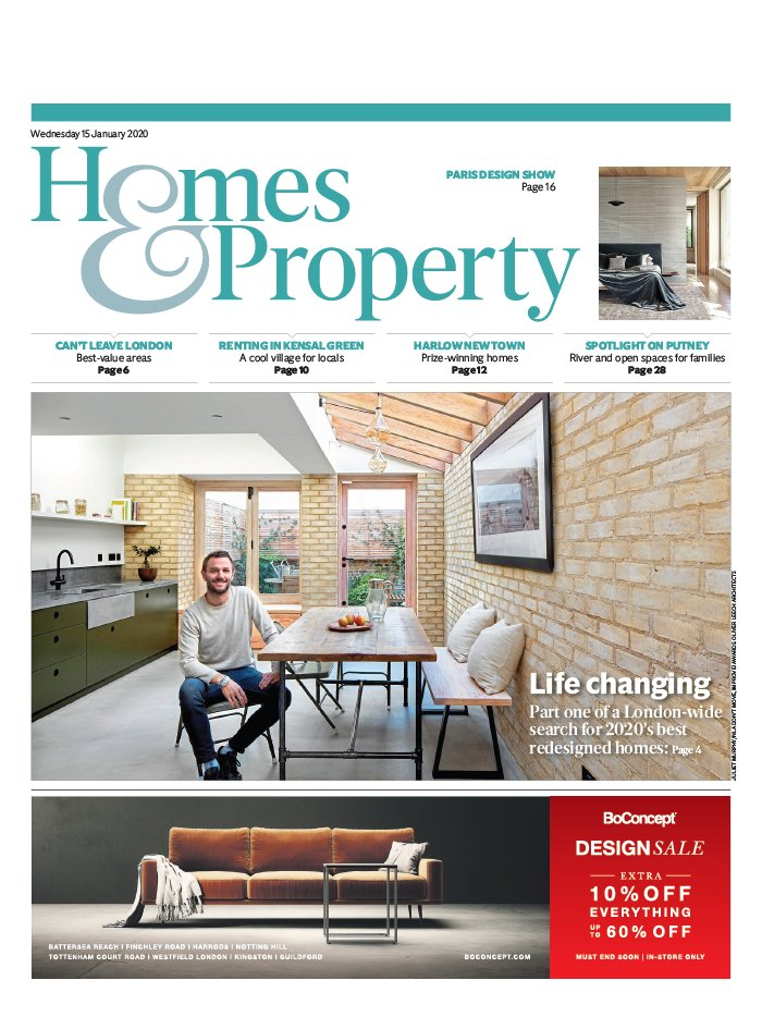 Homes and Property du 15 janvier 2020