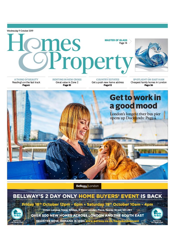 Homes and Property du 09 octobre 2019
