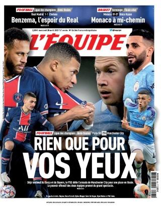 L'Equipe - 28/04/2021 | $result.Author