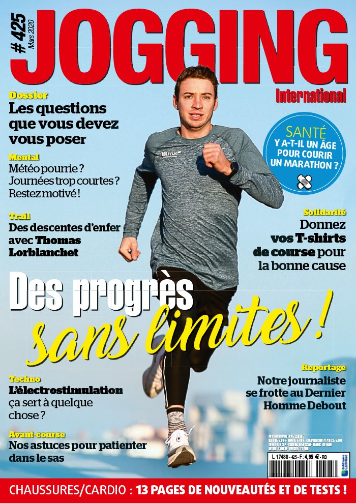 Abonnement Jogging International Pas Cher avec le BOUQUET ePresse.fr