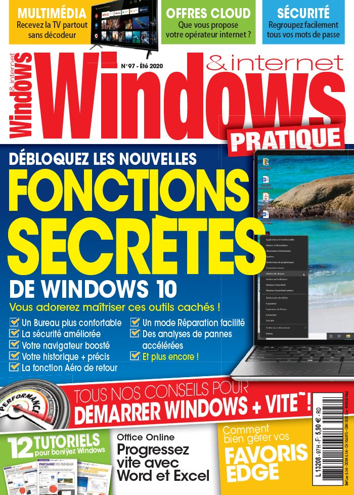 Windows & Internet Pratique du 26 juin 2020