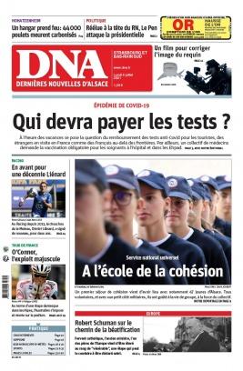 Les Dernières Nouvelles d'Alsace N°20210705 du 05 juillet 2021 à télécharger sur iPad