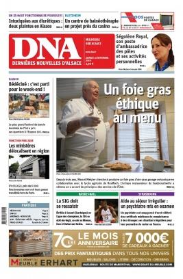 Les Dernières Nouvelles d'Alsace N°20191116 du 16 novembre 2019 à télécharger sur iPad