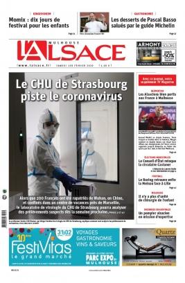 L'Alsace N°20200201 du 01 février 2020 à télécharger sur iPad