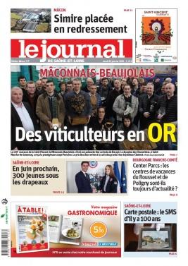 Le Journal de Saône et Loire N°20200123 du 23 janvier 2020 à télécharger sur iPad