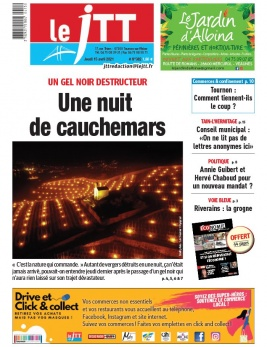 Le Journal de Tournon-Tain du 15 avril 2021