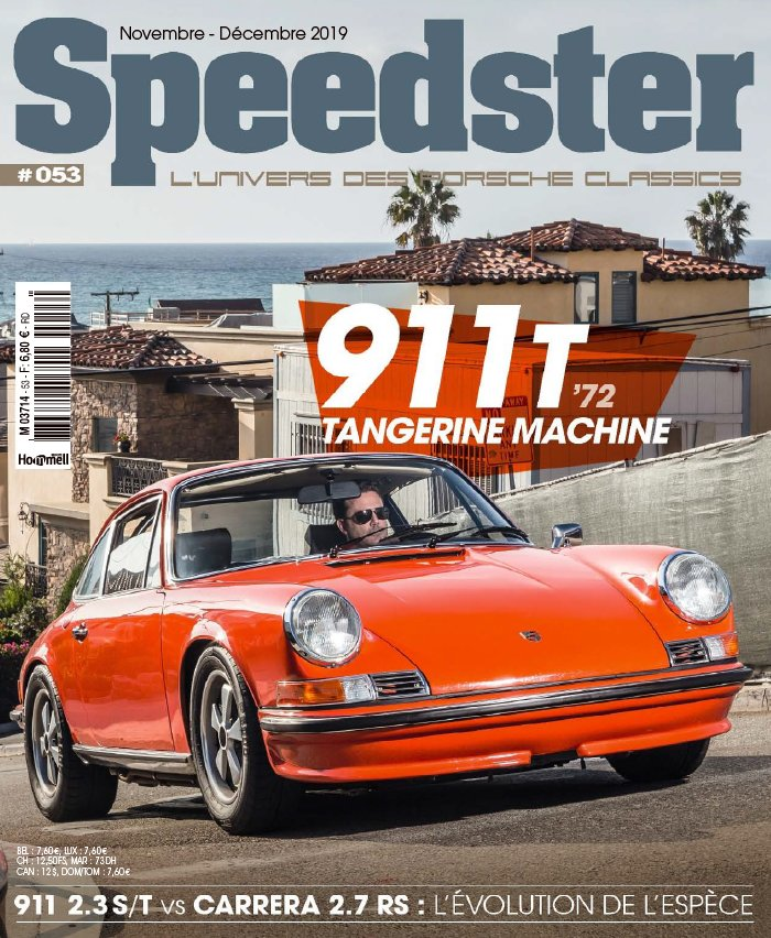 Speedster du 24 octobre 2019