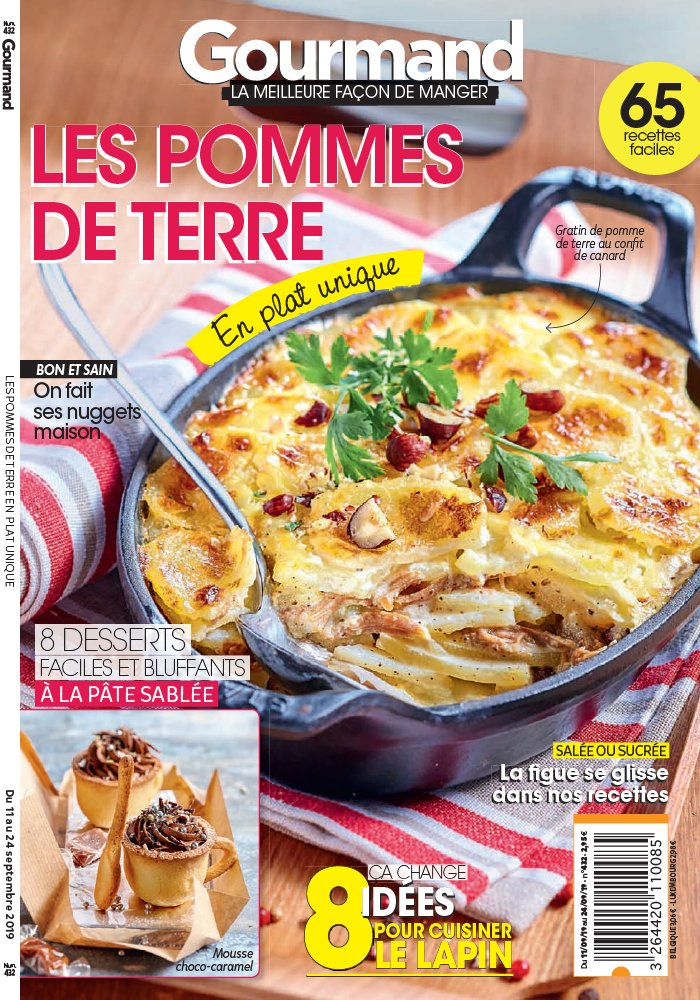 Gourmand du 11 septembre 2019