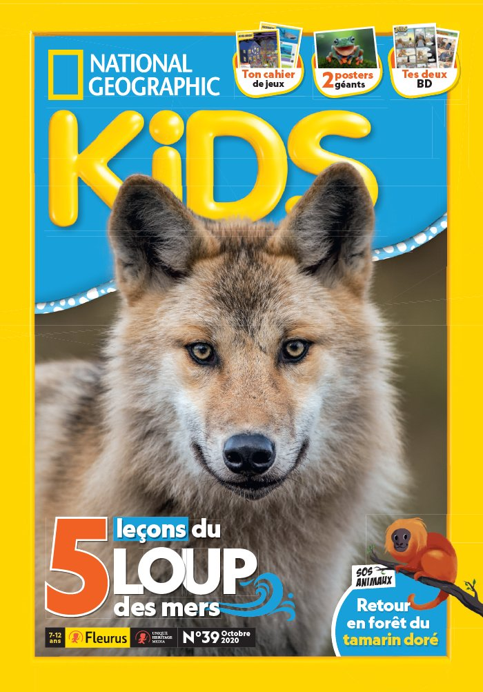 National Geographic Kids du 23 septembre 2020