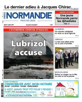 Paris-Normandie N°20191001 du 01 octobre 2019 à télécharger sur iPad