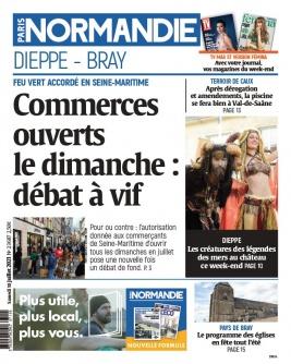 Paris-Normandie N°20210710 du 10 juillet 2021 à télécharger sur iPad