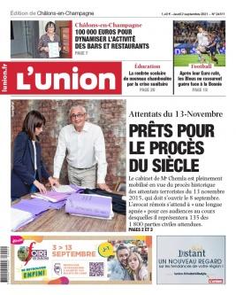 L'Union N°20210902 du 02 septembre 2021 à télécharger sur iPad