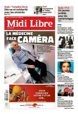 Midi Libre N°20200125 du 25 janvier 2020 à télécharger sur iPad