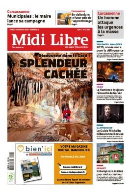 Midi Libre N°20200118 du 18 janvier 2020 à télécharger sur iPad