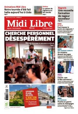 Midi Libre N°20210706 du 06 juillet 2021 à télécharger sur iPad