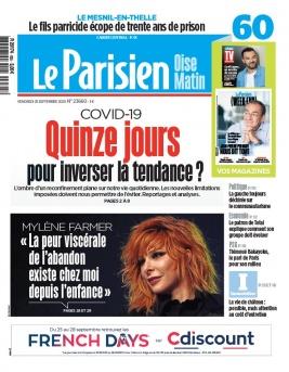 Le Parisien N°20200925 du 25 septembre 2020 à télécharger sur iPad