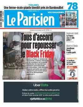 Le Parisien N°20201120 du 20 novembre 2020 à télécharger sur iPad