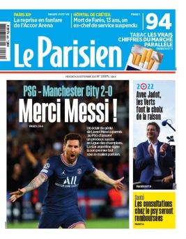 Le Parisien N°20210929 du 29 septembre 2021 à télécharger sur iPad
