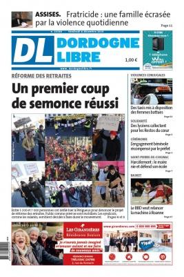 Dordogne Libre N°22560 du 06 décembre 2019 à télécharger sur iPad