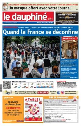 Le Dauphiné Libéré N°20200512 du 12 mai 2020 à télécharger sur iPad
