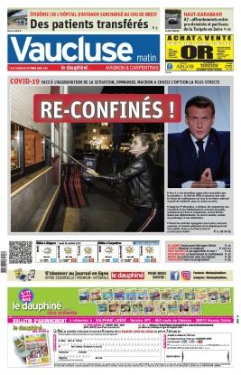 Le Dauphiné Libéré N°20201029 du 29 octobre 2020 à télécharger sur iPad