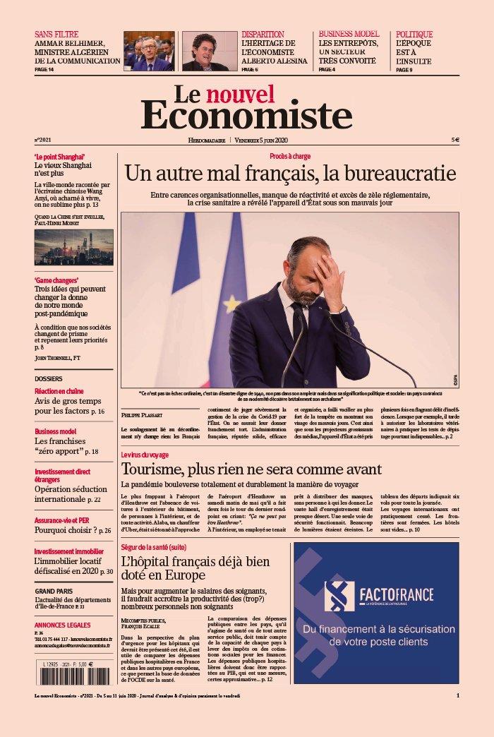 Abonnement Nouvel Économiste Pas Cher avec le BOUQUET ePresse.fr