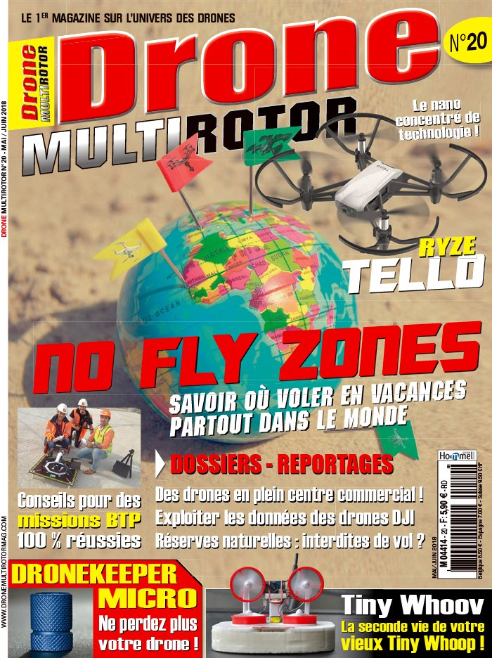 Drone MultiRotor du 26 avril 2018
