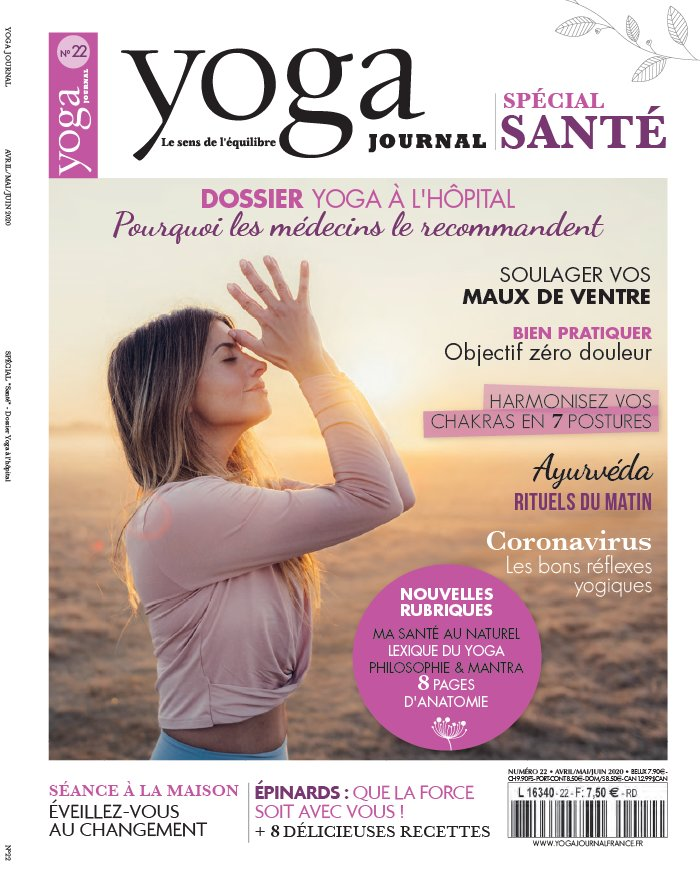 Yoga journal du 31 mars 2020