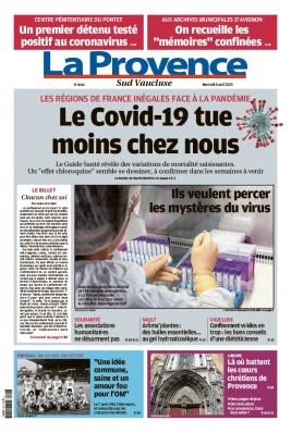 La Provence N°20200408 du 08 avril 2020 à télécharger sur iPad