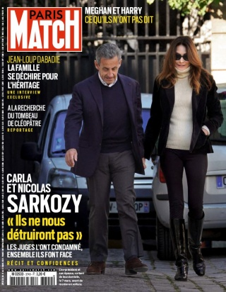 Paris Match - 11/03/2021 |