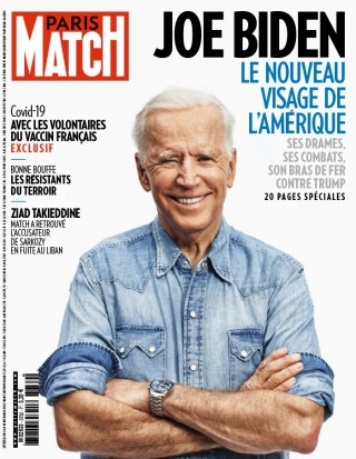 Paris Match - 12/11/2020 |