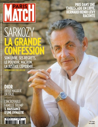 Paris Match - 30/07/2020 |