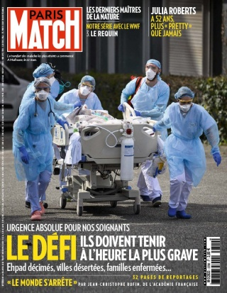 Paris Match - 02/04/2020 |