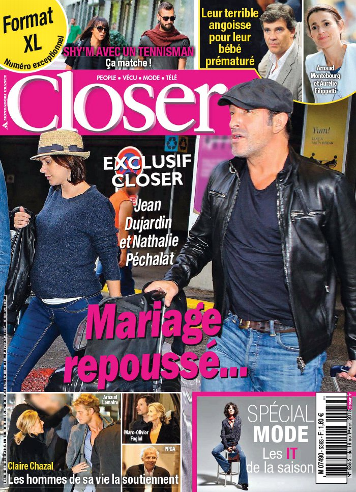 Closer N°536 du 18 septembre 2015 à télécharger sur iPad