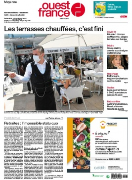 Ouest-France N°20200729 du 29 juillet 2020 à télécharger sur iPad