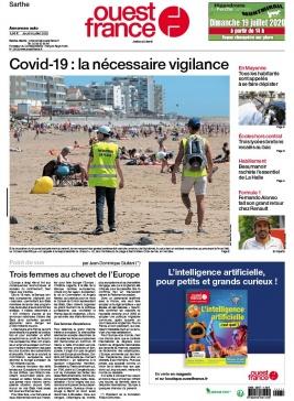 Ouest-France N°20200709 du 09 juillet 2020 à télécharger sur iPad
