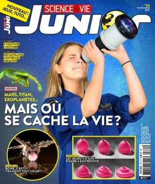 Science et Vie Junior - 14/10/2020 |