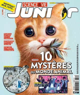 Science et Vie Junior - 09/09/2020 |
