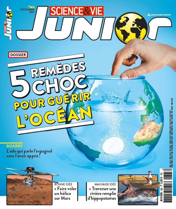 Science et Vie Junior du 13 novembre 2019